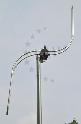 3H-FM-1S - UKW Antenne 1 Element S-Bauform