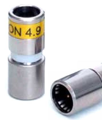 Cabelcon F-SC-56-CX3 4.9 Short  F-Spring-Connect-Kompressionsstecker